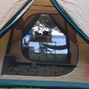 石川県旅行記  その1 ~能登食祭市場でランチ、能登島家族旅行村Weランドでキャンプ~