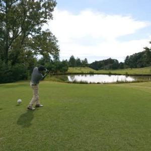 青山高原カントリークラブでゴルフ その1  ~ゴルフ日和、自己ベストスコア更新なるか?~