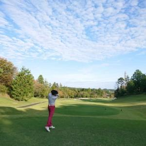 青山高原カントリークラブでゴルフ その2  ~青山高原トンテキセット、自己ベストスコア更新ならず・・・~