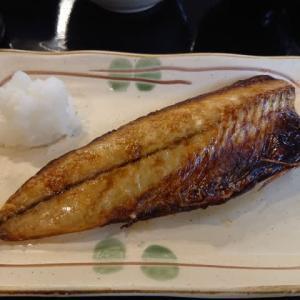 岡崎 CafeRest リズムの日替わりランチ ~焼鯖定食~
