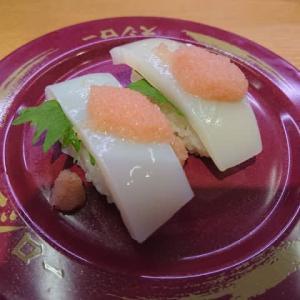 スシロー 稲沢小池店の回転寿司 ~北海道うまいもん市!、生本ずわい蟹、羅臼産真いかのたらこのせ、いか涙巻き など~