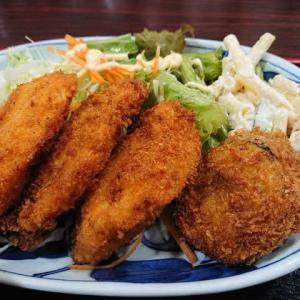 岡崎 お食事処 さんしょうの日替わり定食 ~魚フライ、ナスのフライ~