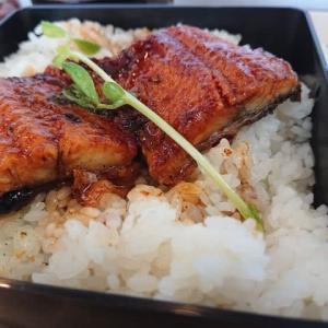 岡崎 Bistro&Cafe 北海道マルシェ シビコ店の日替わりランチプレート ~うな丼、コロッケ、出汁巻き玉子など~