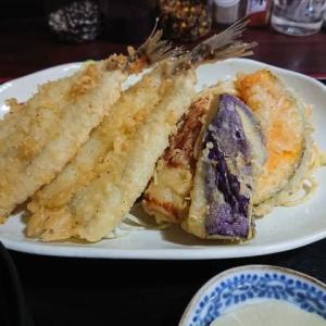 岡崎 お食事処 さんしょうの日替わり定食 ~キスと野菜の天ぷら~