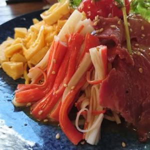 岡崎 Bistro&Cafe 北海道マルシェ シビコ店の北海道冷麺ランチ