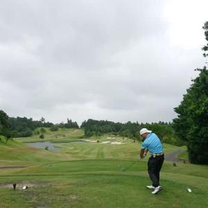 藤原ゴルフクラブでゴルフ その2最終回 ~惜しくも100切りならず・・・、とんてき定食~