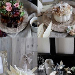 【お花のデザイン講座④】器やリボン、花など素材からのインスピレーション♪