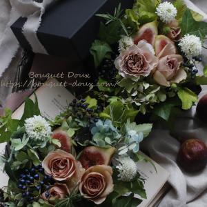 【レッスンレポ】花もフルーツも旬を楽しむ♪生花初級レッスン