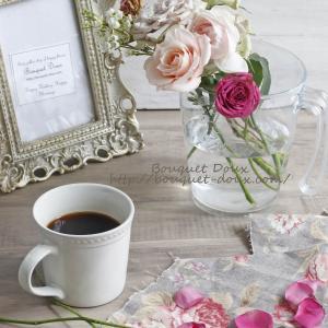 【花飾りのコツ】花瓶に対しての花の高さの目安と勉強のための花時間購入♪