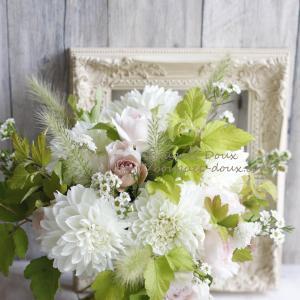 【花の贈り物】記念日に贈る花束とラッピングについて♪