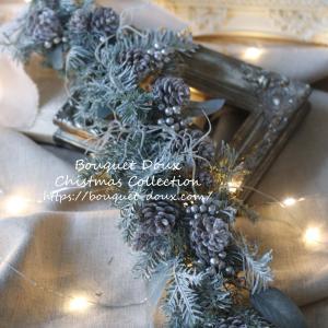 【残1】クリスマスガーランドのレッスンレポ♪