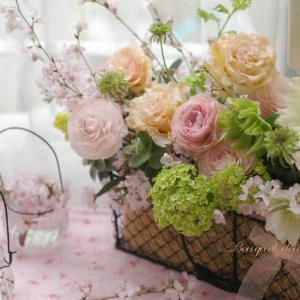 【おうち時間の花アイディア1】生花を味わい楽しみ尽くす♪