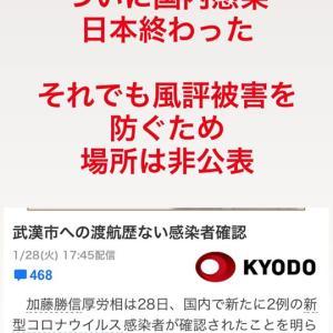 日本国内で感染発覚!