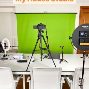 自宅で動画撮影セット
