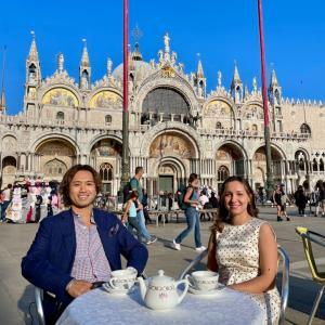 ギラギラしたヴェネツィア中心街を散策