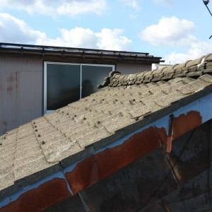 瓦屋根をガルバ屋根へ
