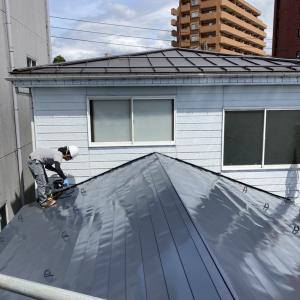 屋根の塗装③~④