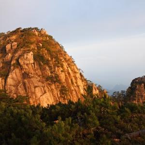 黄山の朝日