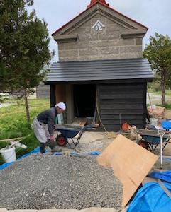 樋口季一郎記念館の改修工事