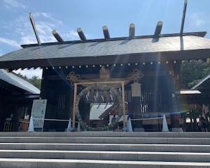 北海道神宮にじゃぱとらをお届けしました。