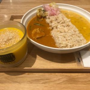 ◆ カレーとスープと…
