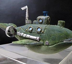 海底調査艇 ミニチュア