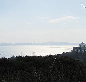 三河湾 光る海
