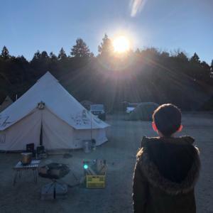 年越しキャンプ2020③