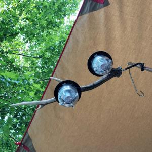 夏の終わりの道志川キャンプ。