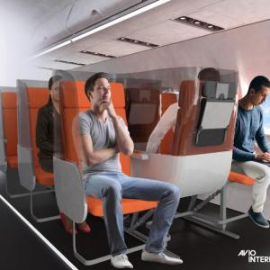 コロナの時代の旅客機は… 寝台ではなくヤヌス席へ