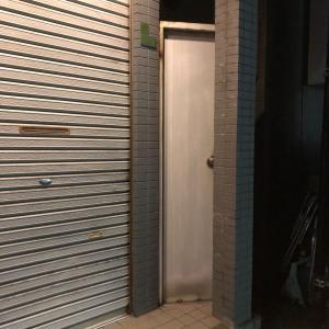 白い扉と青い扉
