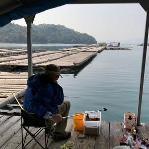 中年の日本帰郷 Vol.17 初の牡蠣筏釣り~今度は真鯛ラッシュ編
