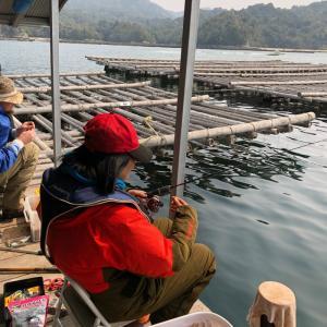 中年の日本帰郷 Vol.18 牡蠣筏で念願のチヌ釣り【成果見せびらかし編】
