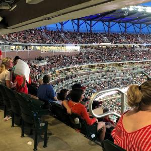 Atlantaブレーブス生観戦 Part.3 圧巻・夜のスタジアム&トホホな撤退