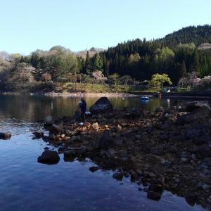 20190505沼沢湖初釣行