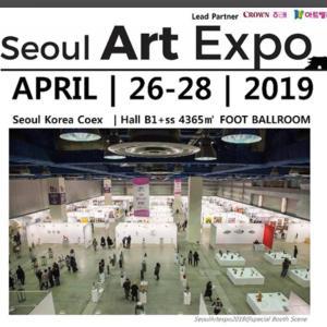 Seoul Art Expo 2019に出品させて頂いております