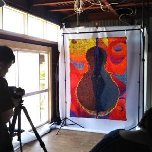 昨日は写真家の松浦文生さんのスタジオ
