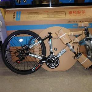 運動用自転車購入しました