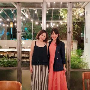 入社1年記念dinner♡