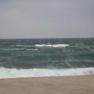 日本海海岸に行ってみました。