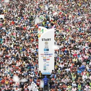 東京マラソン【その1】
