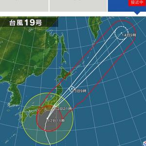 台風にお気をつけくださいませ!