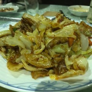 四川料理秋の回鍋肉