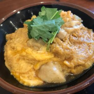 丸亀製麺さんのふわふわ親子丼