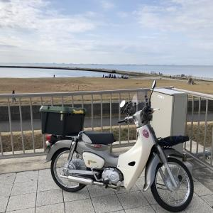 優柔不断の放浪・・・結局・・・4週連続稲毛の浜(^^;