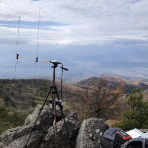 SOTA JA/NN-209(烏帽子岳:2066m) 無線運用