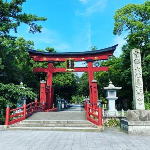今日は敦賀で朔日まいり