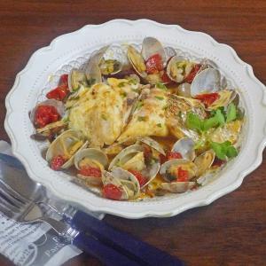 トマトの甘味と旨みが際立つ 白身魚とあさりの絶品 アクアパッツア