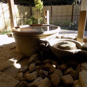温泉の外湯(桶湯)の改装・・・湯を無駄にせずエコになりました。