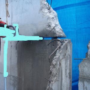 驚異のたった100ボルトの鉄筋コンクリートカットマシン!!!!なんだこりゃ?